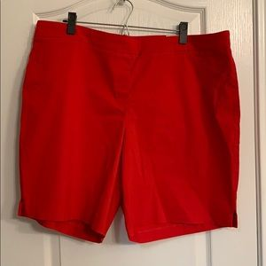 Red shorts!